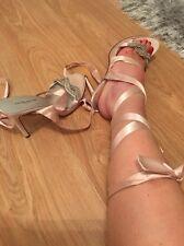 BNWOT Karen Millen Wrap redondo sandalias - tamaño 4 💕 costo £225