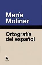 Ortografia del espanol (Spanish Edition)-ExLibrary