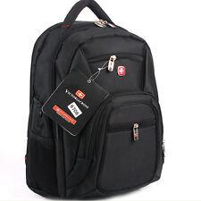 """Men Women Backpack Rucksack Travel Sports Bag 15"""" Laptop Bag Schoolbag Daypack"""