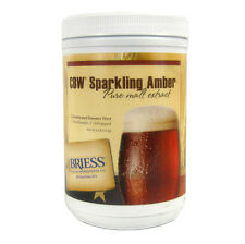 Briess CBW Sparkling Amber Liquid Malt Extract Syrup  Home Brewing Beer - 3.3 lb