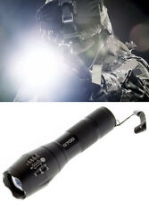 G700 Military Tactical LED Flashlight Navy Seal 5 Mode Beam 2000 Lumen 5000 Lux