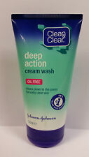 CLEAN & CLEAR DEEP ACTION CREAM WASH OIL FREE - 150ML