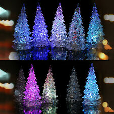 LED Christmas Tree Night Lights Lamp Xmas Home Decor Party Decoration Ornament