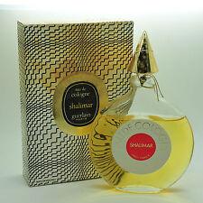 Vintage Guerlain Shalimar 165ml Eau de Cologne sealed 40 year old