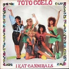 "TOTO COELO i eat cannibals part 1/part 2 TIC 10 uk radial choice 7"" PS EX/VG+"