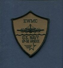 LOCKHEED EP-3E P-3 ARIES ORION EWMC Mission Commander US NAVY Squadron Sub Patch