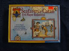 Seafarers of Catan 5-6 Player Expansion - Old Edition * Sealed * Mayfair Games *