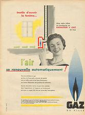 Publicité 1965  GAZ DE VILLE