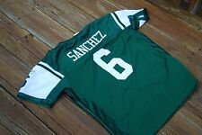 New York Jets Women's Large Mark Sanchez Sewn Green Jersey