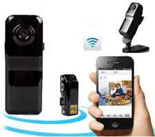 WiFi Card Video Camcorder Cam DV Mini Camera MD81S Support iPhone/Android Mobile