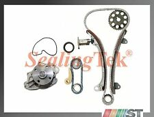 Fit Toyota 2.4L 2AZFE / 2.0L 1AZFE VVT-i Engine Timing Chain Kit w/ Water Pump