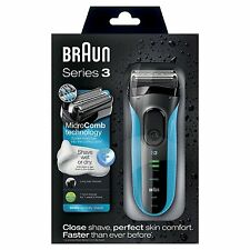 Braun Series 3 3040 Men Dry Electric Foil Shaver Waterproof Trimmer 340s-4 340s
