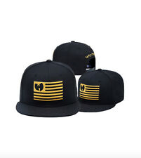 WU-TANG Men's Snapback Embroidery Adjustable Hat - Wu Tang USA Hat