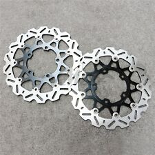 Front Brake Disc Rotors Set For Suzuki 06-07 GSXR600/750 & GSX-R1000 05-09 New
