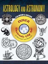 Astrology and Astronomy CD-ROM and Book (Dover Electronic Clip Art) by Ernst Le