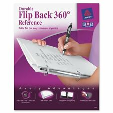 "Avery Flip Back Reference View Binder - Letter - 8.50"" X 11"" - 175 Sheet"