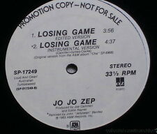 "JO JO ZEP Losing game 12"" single A&M SP-17249 (1983) PROMO"