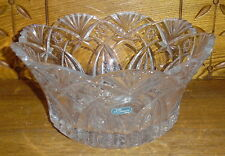JG Durand France Crystal Bowl - 9""