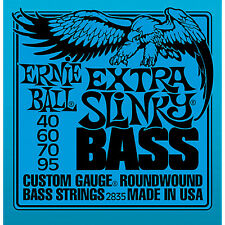 Ernie Ball 2835 Extra Slinky Bass Guitar Strings 40-95 round wound