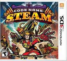 Code Name STEAM Nintendo 3DS Brand New/Sealed