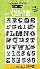 NEW Hero Arts Clear Stamps Sketchbook Letters