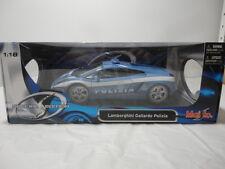 Lamborghini Gallardo Polizia Maisto Die Cast 1:18