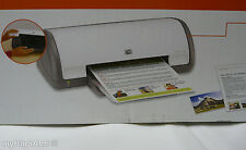 HP Deskjet D1560 InkJet Photo Printer Compact USB 80 Sheet foldup paper tray NEW