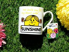MR MEN Little Miss Sunshine FINE CHINA MUG