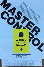 1977 MASTER VOLUME CONTROL - designed for 8 ohm speaker load