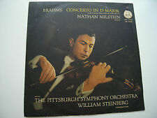 NATHAN MILSTEIN STEINBERG BRAHMS VIOLIN CTO CAPITOL CTL 7070 FIRST UK EDITION