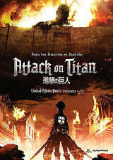 Attack on Titan: Part 1 Funimation Blu-Ray / Dvd Limited Edition Box New Sealed