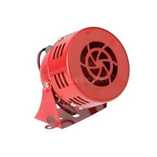 12V 110DB Automotive Super Loud Horn Car Truck Motorcycle Alarm Metal Red 0C74