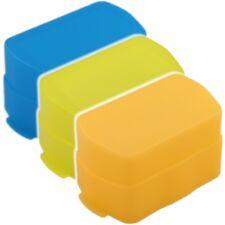 3x Bouncer Diffusoren Gelb Orange Blau Diffusor passend für Nikon SB 800 SB800