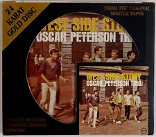 OSCAR PETERSON TRIO: West Side Story GOLD DISC Audiophile DCC Jazz OOP CD NM