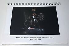 CHANEL PREFALL 2009 PARIS MOSCOU MESSAGE MODE STAFF BOOK BAGS FLAPS CATALOG VIP