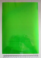 Sign vinyl - A4 sheet (297 x 210 mm) - mosaic effect - green (metallic)