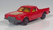 """Matchbox No60 Lesney Superfast Holden Pickup 500 3"""" Red Scale Model"""