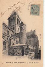 MONT SAINT-MICHEL la tour de l'horloge timbrée 1906