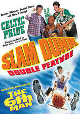 Slam Dunk Double Header: Celtic Pride, The 6th Man, Very Good DVD, David Paymer,