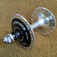 NOS 1980 Dura-Ace HB-7600 NJS Approved Front Track Hub 36h Fixie Japan