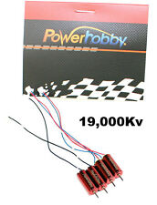 Powerhobby RX0615-19 19000kv FAST UPGRADE Motors CW / CCW : Tiny Whoop RED