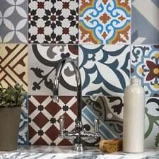 Ca'Pietra Cement Encaustic Patchwork Multicolour Tile, Walls / Floors, Kitchen