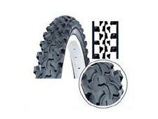 "2 x BRAND NEW 20"" BMX Mountain Bike Treaded Tyres RP£24"