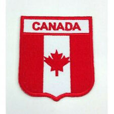 Canada Country Flag Embroidered Sew/Iron On Patch Patches