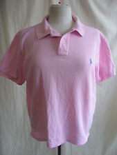 Mens T-Shirt - Ralph Lauren, size M /L slim-fit, baby pink, polo, collared 1866