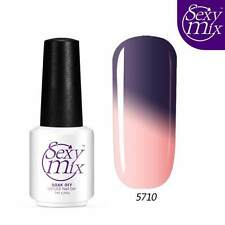 Sexy Mix Temperature Color Change Soak Off LED UV Gel Nail Polish 7ml
