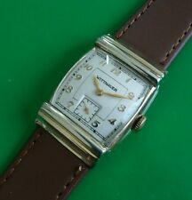 *FULLY SERVICED* Vintage 1940s WITTNAUER Men's  Watch Run's EXCELLENT.