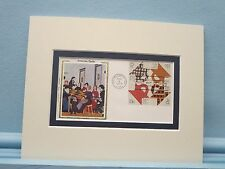 Folk Art - Quilting and First Day Cover of the Quilting Stamps