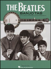 The Beatles Banjo TAB 22 Classics for 5-String Banjo Tablature Music Book