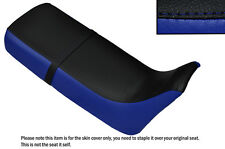 ROYAL BLUE & BLACK CUSTOM FITS HONDA XRV 650 AFRICA TWIN RD03 DUAL SEAT COVER